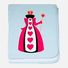 Queen Of Hearts baby blanket
