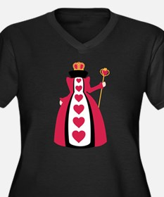 Queen Of Hearts Plus Size T-Shirt