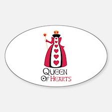 QUEEN OF HEARTS Decal