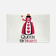 QUEEN OF HEARTS Magnets