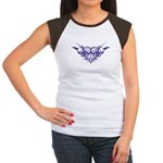 Purple heart tattoo Women's Cap Sleeve T-Shirt