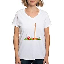 Croquet Mallet Game T-Shirt
