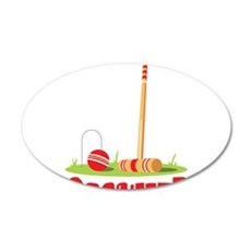 CROQUET? Wall Decal
