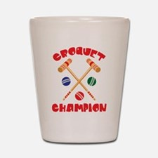 CROQUET CHAMPION Shot Glass