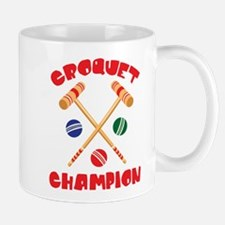 CROQUET CHAMPION Mugs