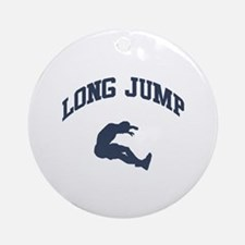Long Jump Ornament (Round)