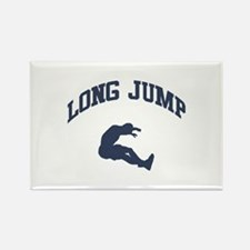 Long Jump Rectangle Magnet (10 pack)