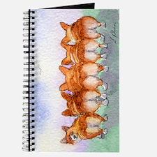 Five Corgi butts Journal