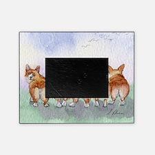 Five Corgi butts Picture Frame