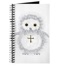 Baby snow owl David Journal