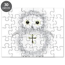 Baby snow owl David Puzzle