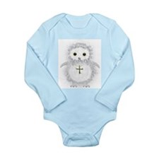 Baby snow owl David Body Suit