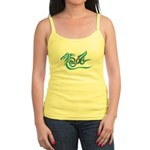 Blue dragon tattoo Jr. Spaghetti Tank
