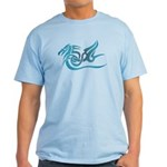 Blue dragon tattoo Light T-Shirt