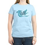 Blue dragon tattoo Women's Light T-Shirt