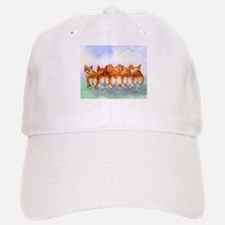 Five Corgi butts Baseball Baseball Baseball Cap