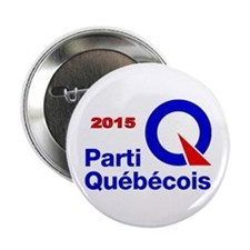 Parti Quebecois 2015 2.25&Quot; Button