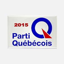 Parti Quebecois 2015 Rectangle Magnet
