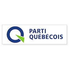 Parti Québécois Bumper Sticker