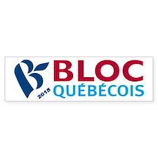 Bloc Quebecois 2015 Bumper Sticker