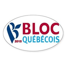 Bloc Quebecois 2015 Decal