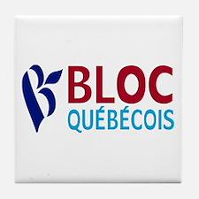 Bloc Quebecois Tile Coaster