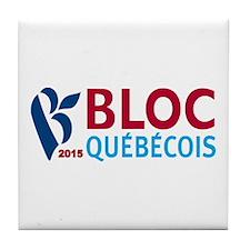 Bloc Quebecois 2015 Tile Coaster