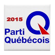 Parti Quebecois 2015 Tile Coaster