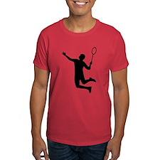Badminton player jump T-Shirt