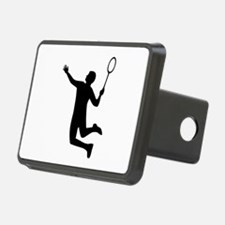Badminton player jump Hitch Cover