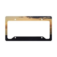 Marco Island, FL-Sunset License Plate Holder
