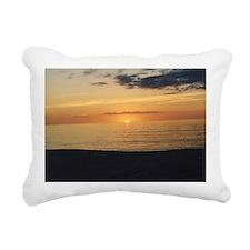 Marco Island, FL-Sunset Rectangular Canvas Pillow
