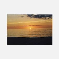 Marco Island, FL-Sunset Rectangle Magnet