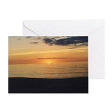 Marco Island, FL-Sunset Greeting Card