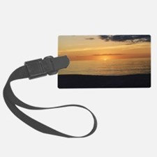 Marco Island, FL-Sunset Luggage Tag