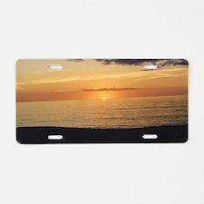 Marco Island, FL-Sunset Aluminum License Plate