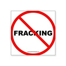 No Fracking Sticker