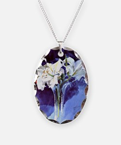 Anders Zorn floral painting -  Necklace