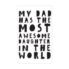 Awesome Daughter Decal