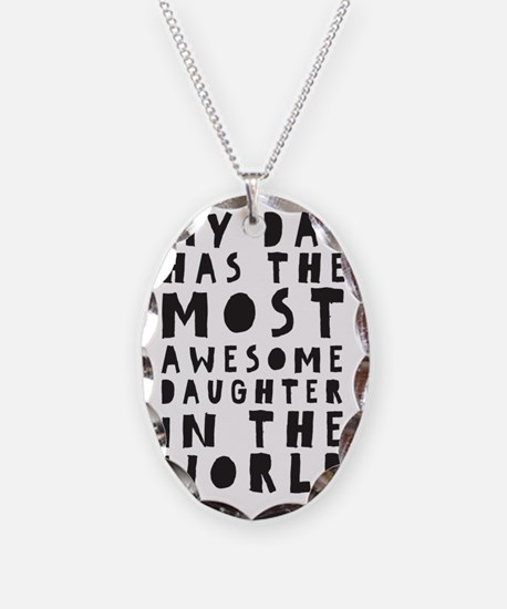 Awesome Daughter Necklace