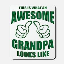 Awesome Grandpa Mousepad
