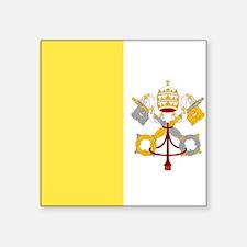 Vatican City Rectangle Sticker
