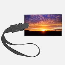 Glorious Sunset Luggage Tag