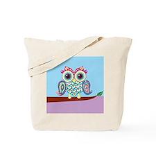 Indian Owl Tote Bag