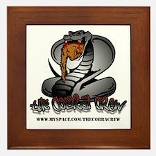 The Cobra Crew Framed Tile