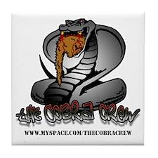 The Cobra Crew Tile Coaster