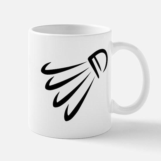 Badminton shuttlecock Mug