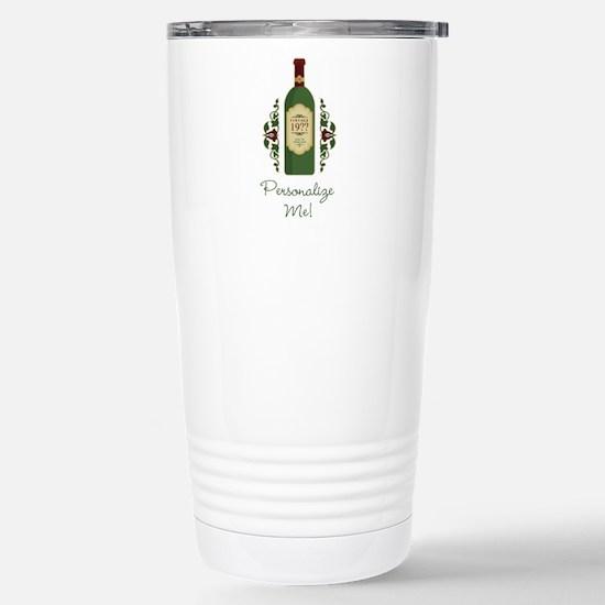 Customizable Birthday Travel Mug