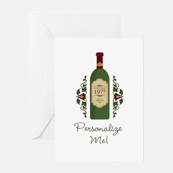 Customizable Birthday Greeting Card