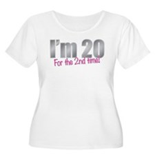 20 2nd Time 40th Birthday Plus Size T-Shirt